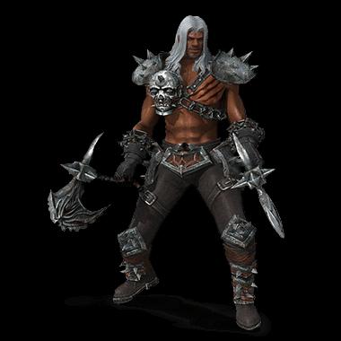 Arcane Quest 3 Berserker Character