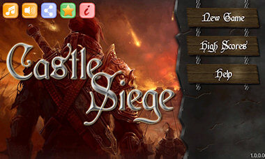 Castle Siege Main Menu - Beta