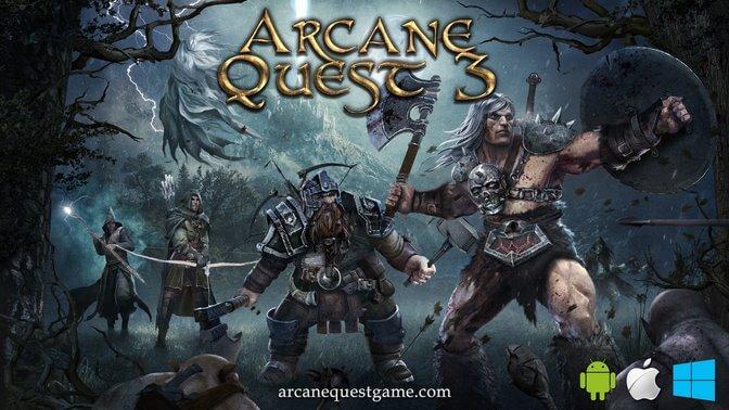 Arcane Quest 3 - Illustration 01